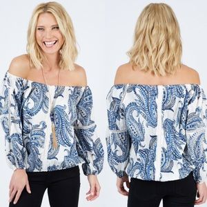 Evereve On The Road Blouse